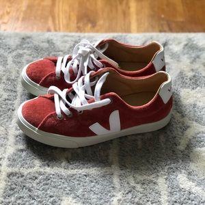 Veja Rust Suede Sneakers- New ! Never been worn